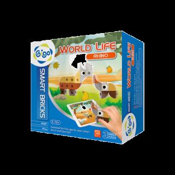 Gigo Toys World Life - Rhino (43 Pieces)
