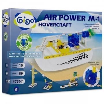 Gigo Toys Green Energy - Air Power M1 Hovercraft
