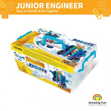 Gigo Junior Engineer Robots (53 Pieces)