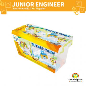 Gigo Junior Engineer Theme Park (97 Pieces)