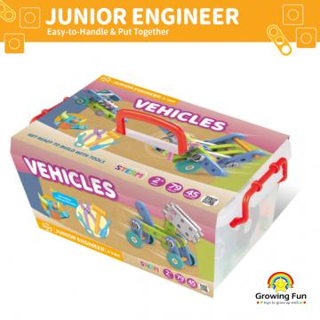 3_Gigo Junior Engineer - Vehicles (79 Pieces)