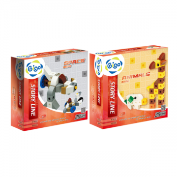 Gigo Bundle Pack Story Line Space Mini and Animal Mini