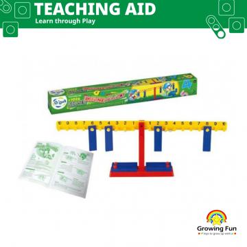 Gigo Teaching Aid Number Equalizer Balance (21 Pieces)