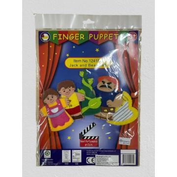 7_King Dam Felt Finger Puppets - Jack & the Beanstalk storytelling