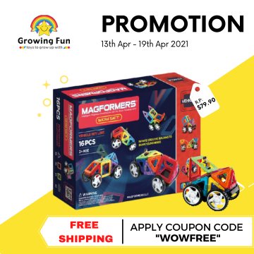 Magformers - WOW Set (16pcs)