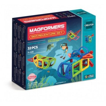 Magformers - Sea Adventure Set (32pcs)
