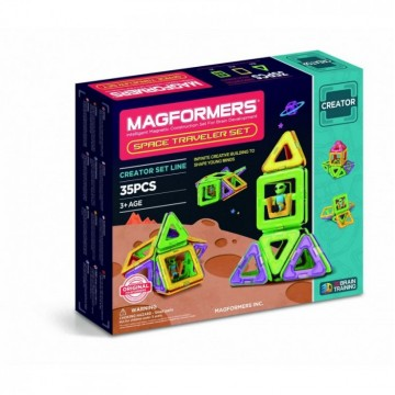 Magformers - Space Traveller Set (35pcs)