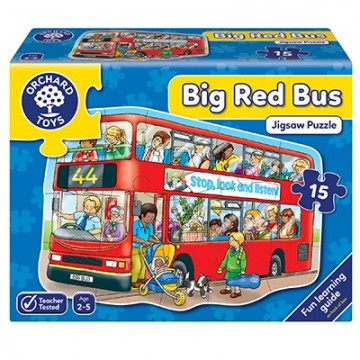 Orchard Toys - Big Red Bus Jigsaw Puzzle