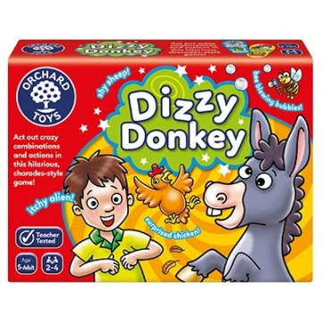 Orchard Toys - Dizzy Donkey Game | Age 5 - Adult