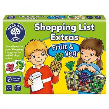 Orchard Toys Game - Shopping List Booster Pack (Fruit & Veg)