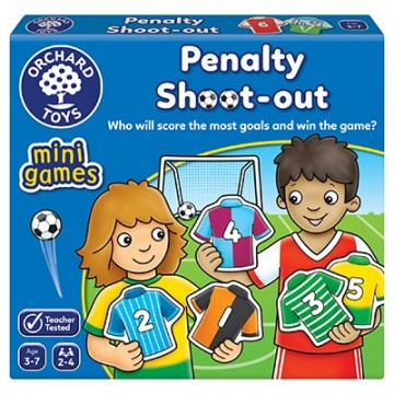 Orchard Toys - Penalty Shoot Out Mini Game | Age 3 - 7