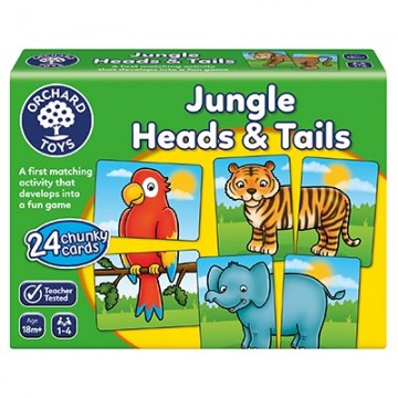 Orchard Toys Game - Jungle Heads & Tails Game