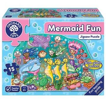 Orchard Toys - Mermaid Fun Jigsaw Puzzle| Age 2+