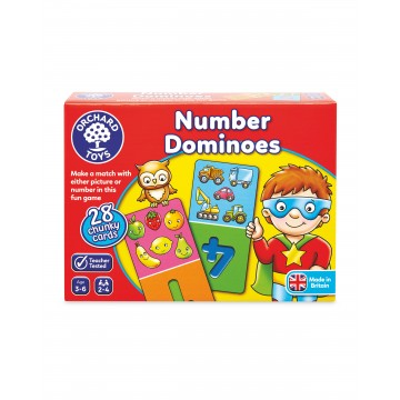 Orchard Toys - Number Dominoes Game