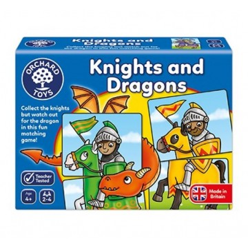 Orchard Toys - Knights and Dragons Game