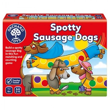Orchard Toys - Spotty Sausage Dogs Game | Age 4+