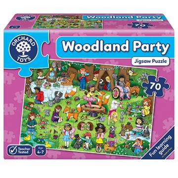 Orchard Toys - Woodland Party Jigsaw Puzzle | Age 4 - 7