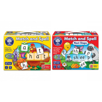 Orchard Toys Match and Spell Game Bundle