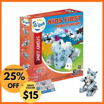 9_Gigo Story Line Kids First Robot Safari