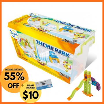 9_Gigo Junior Engineer Theme Park (97 Pieces)