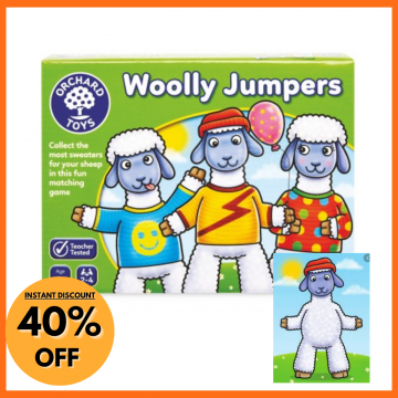 Orchard Toys Board Game - Woolly Jumpers