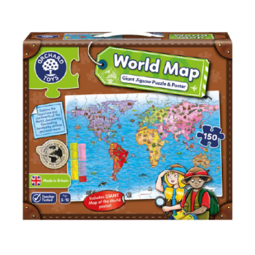 Orchard Toys Challenging Puzzle - World Map