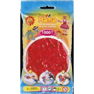 HAMA - Midi - 1,000 bead bag (red)