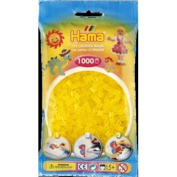 HAMA - Midi - 1,000 bead bag (translucent yellow)