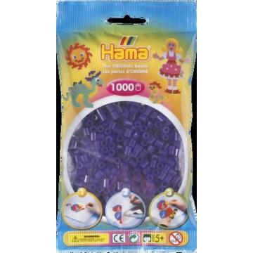 HAMA - Midi - 1,000 bead bag (translucent purple)