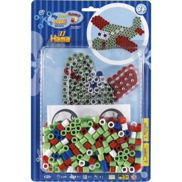 HAMA - Maxi - bead kit blister large (aeroplane)