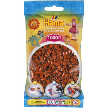 HAMA - Midi - 1,000 bead bag (reddish brown)