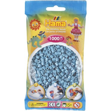 HAMA - Midi - 1,000 bead bag (turquoise)