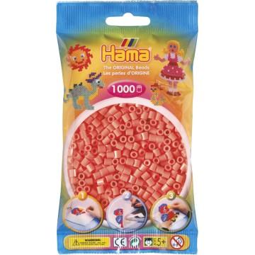 HAMA - Midi - 1,000 bead bag (pastel red)