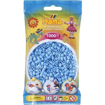 HAMA - Midi - 1,000 bead bag (pastel blue)