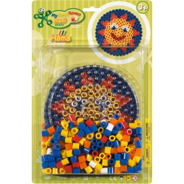 HAMA - Maxi - bead kit blister large (sun)