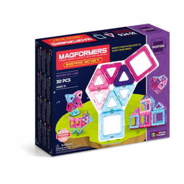 Magformers - Inspire 30 Set (30pcs), magnetic