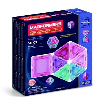Magformers - Window Inspire (14pcs), magnetic