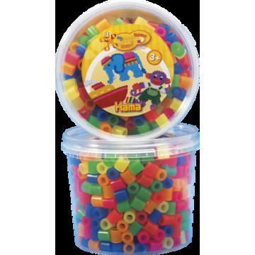 HAMA - Maxi - 600 bead tub (mixed neon)