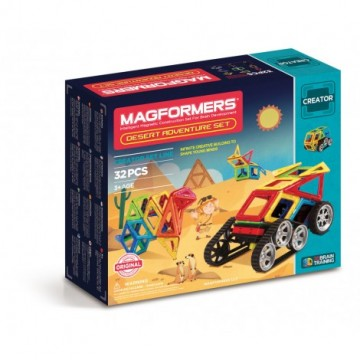 Magformers - Desert  Adventure Set (32pcs), magnetic