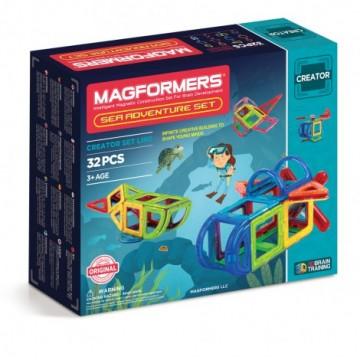 Magformers - Sea Adventure Set (32pcs)