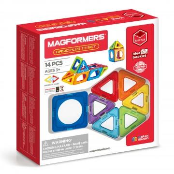 Magformers - Basic Plus Set (14 piece)
