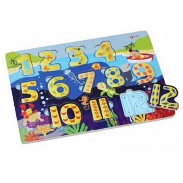 Numeric Undersea Puzzle