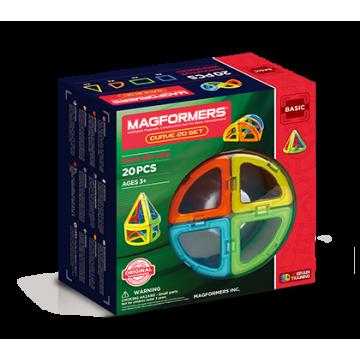 Magformers Curve Set 20 (20PCS)