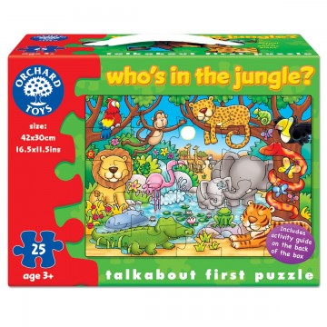 Orchard Toys Puzzle - Who's in the Jungle?