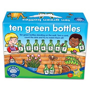 Orchard Toys Number and Counting Game - Ten Green Bottles
