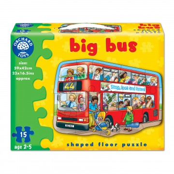 Orchard Toys Floor Puzzle - Big Bus