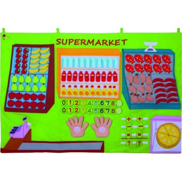 Kingdam Wall Chart - Giant Supermarket Chart