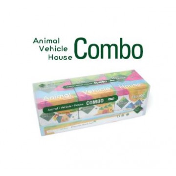 ANIMAL VEHICLE HOUSE COMBO