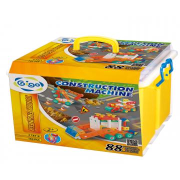 Gigo Junior Engineer - Construction Machine (160 Pieces) | Age 2 +