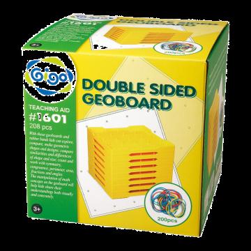 Gigo - Double Sided 5x5 Geoboard (set of 8)